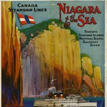 Image of Canadian Steamship Lines, Niagara to the Sea, Timetable, 1930
