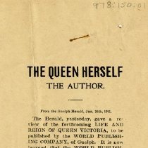 Image of Advertisement for Book, 1901