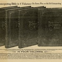 Image of Advertising Circular for Self-Interpreting Testament