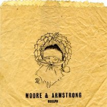 Image of Christmas Paper Bag from Moore & Armstrong