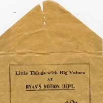 Image of Notions Envelope, G.B. Ryan & Co.
