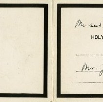 Image of Announcement of a Mass for Mr. James Mulhall