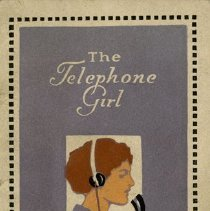 "Image of Bell Telephone Booklet, ""The Telephone Girl"""