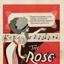 "Image of Booklet, ""The Rose Maid,"" 1912"