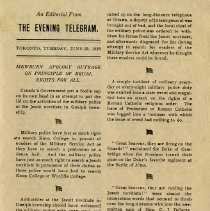 Image of An Editorial from The Evening Telegram, June 25, 1918