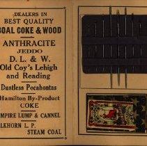 Image of Inside Needle Case, Kloepfer Coal Company