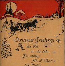Image of Christmas Greeting, The Kloepher Coal Co.