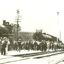 Image of Arrival of Royal Train 1936
