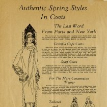 "Image of ""Spring Styles in Coats,"" page 4"