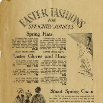"Image of ""Easter Fashions for Sprightly Juniors,"" page 7"