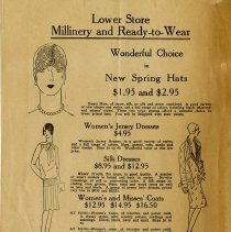 "Image of ""Lower Store Millinery and Ready-to-Wear,"" page 8"