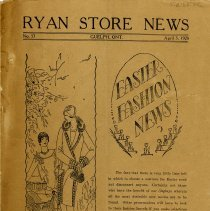 Image of Ryan Store News, G.B. Ryan & Co., April 1928