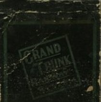 Image of Grand Trunk Railway Match Cover, back