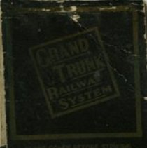 Image of Grand Trunk Railway Match Cover