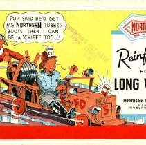 Image of Advertising Ink Blotter, Northern Rubber Co.