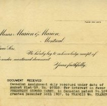 Image of .2 Letter acknowledging Receipt of Document