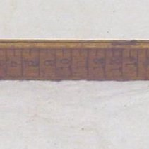 Image of 1979.30.6 - Ruler
