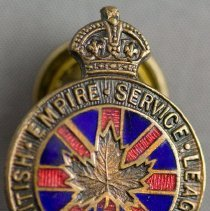 Image of Canadian Legion Button - Front