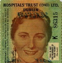 Image of Irish Hospitals' Sweepstake Ticket, 1958
