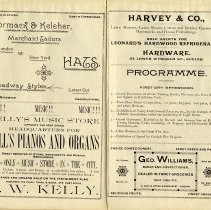 Image of Programme, First Day - Afternoon, p.13