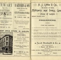 Image of Programme, First Day - Evening, p.17