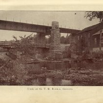 Image of View of G.T.R. Bridge, Guelph, p.34
