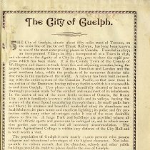Image of The City of Guelph, 1889, p.5