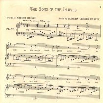 Image of The Song of the Leaves pg 1