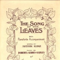 Image of The Song of the Leaves cover