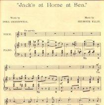 Image of Jack's at Home at Sea pg 2