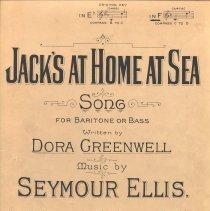 Image of Jack's at Home at Sea pg 1