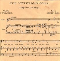 Image of Veteran's Song music