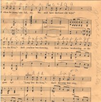 Image of Veteran's Song markings pg 8