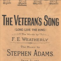 Image of Veteran's Song cover