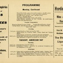 Image of Programme - Monday, Tuesday (American Day), p.13