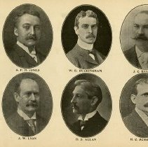 Image of Members of Board of Trade, p.17