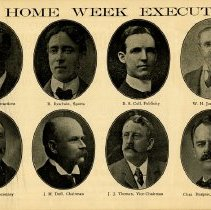Image of Old Home Week Executive, p.1
