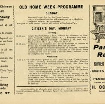 Image of Programme - Sunday and Monday, p.5