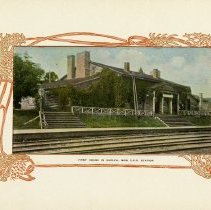 """Image of """"First House in Guelph, Now C.P.R. Station,"""" page 3"""
