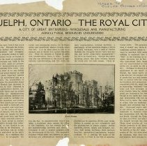 "Image of ""Guelph, Ontario - The Royal City,"" 1907"