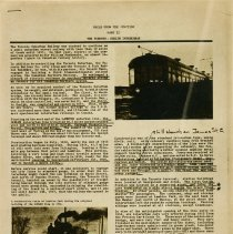 """Image of """"Rails from the Junction Part II, The Toronto-Guelph Inter-Urban,"""" p.1"""