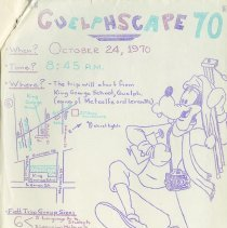 "Image of ""Guelphscape 70"" Flyer, page 50"
