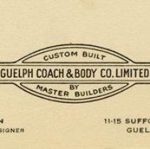 Image of Business Card for A. Gethin, Designer