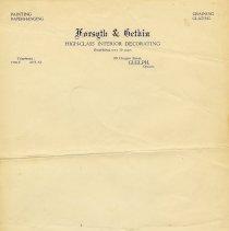 Image of Forsyth & Gethin Letterhead