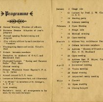 Image of Programme, Sept.22, 1913 - May 18, 1914