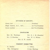 Image of St Andrew's Society 1909 pg 3