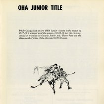 Image of OHA Junior Title, 1947-48, p.9