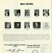 Image of Men's Softball, p.12