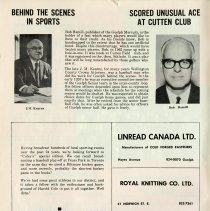 Image of J.M. Kearns, Behind the Scenes in Sports, p.2