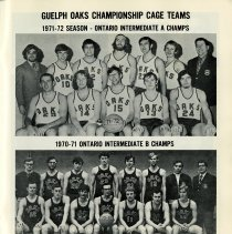 Image of Guelph Oacks Championship Cage Teams, p.23